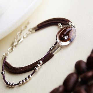Coffee Beans Bracelet A - Special Material - Real Coffee Bean Creation