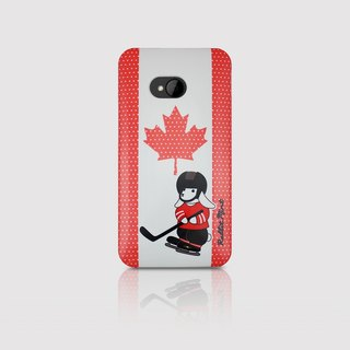 (Rabbit Mint) Mint Rabbit Phone Case - Bunny Love Travel Series - Canada HTC One M7 (P00060)