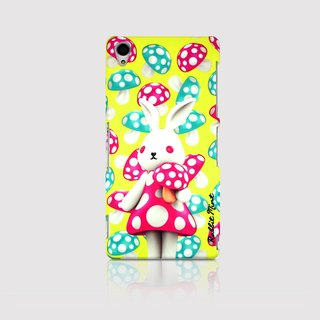 (Rabbit Mint) Mint Rabbit Phone Case - Bu Mali mushrooms series Merry Boo - Sony Z3 (M0007)