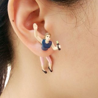 Taiwan original Double M Metropolitan Earrings for men and women - Drinking articles