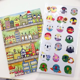 Plus purchase in December small bird stickers (purchase any works can be made at this plus purchase !!!)
