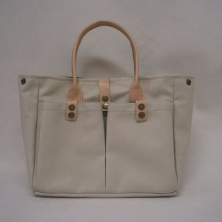 Canvas simple tote bag B
