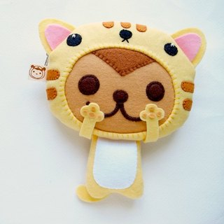 BoSARU Tabby Cat Small Object Coin Purse