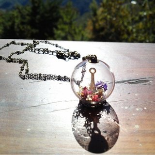 OMYWAY Hand Made Glass Globe Necklace