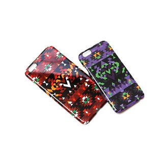 Filter017 - iPhone6 Case -  Filter017 x Evangelion - EVA Folk Style iPhone 6/6 PLUS Case