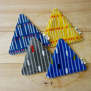 Triangle coaster combination (four in)