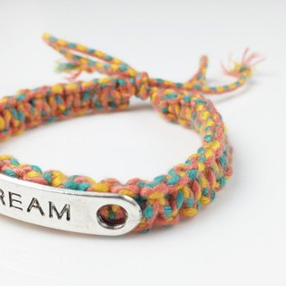 DREAM braid series (Valentine's Day Collection) - Integrated color orange