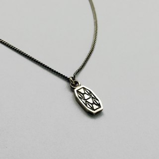 Mosaic Line I-02  925Silver Necklace