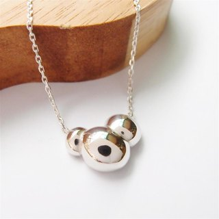 Bubble Series Sterling Silver Necklace-1
