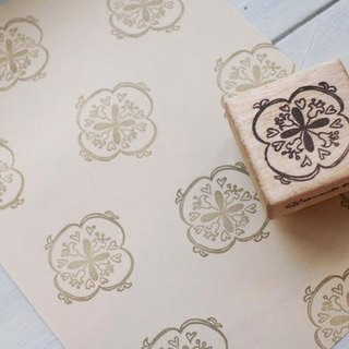 [Resale] Scandinavian lily of the valley motif stamp