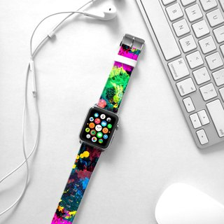 Apple Watch Series 1 , Series 2, Series 3 - Abstract Art pattern vivid Watch Strap Band for Apple Watch / Apple Watch Sport - 38 mm / 42 mm avilable