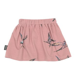 Nordic Organic Cotton Kids Trousers Kids Skirt Pink Skirt sk2 Antique Kria