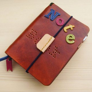 ISSIS - All handmade A7 manual / notebook