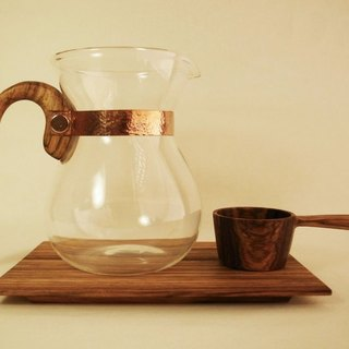 Lu La Rosee wood feel coffee pot group / classic collection / Zebra wood group / pre-order models