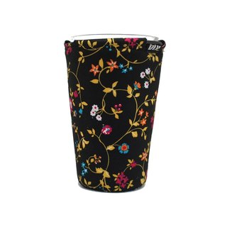 BLR Drink caddy for car [ Gold flower ] WD89