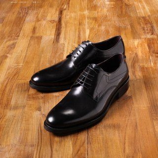 Vanger elegant beauty ‧ minimalist style Derby shoes Va140 gentleman black