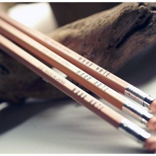 North Star WoodNote engraved pencil