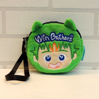 Big allow fluff bulk Clutch winbrothers coin wallet doll (B-win)