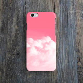 Pink Clouds, - Designer iPhone Case. Pattern iPhone Case. One Little Forest
