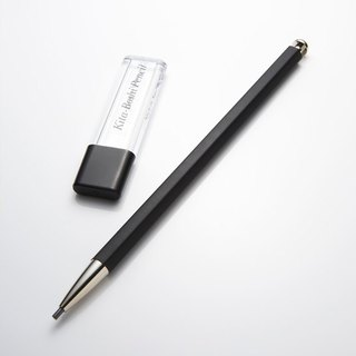 Japan North Star adults pencils - color black (black pen body + black cartridge clip)