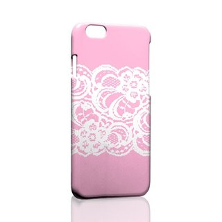 Pink white lace custom Samsung S5 S6 S7 note4 note5 iPhone 5 5s 6 6s 6 plus 7 7 plus ASUS HTC m9 Sony LG g4 g5 v10 phone shell mobile phone sets phone shell phonecase