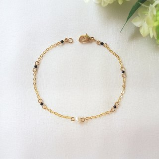 Single pearl small sesame small bracelet
