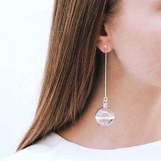 Droplet earring long
