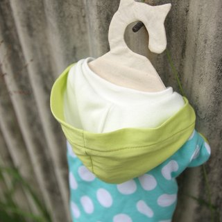 Morning echo】 【For Dear hair children's morning walk cap T- cat, dog clothes -