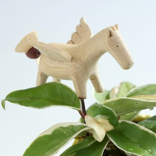 Creative flower holder can be used with houseplants - Little Pegasus (propeller movable)