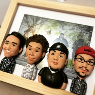 [] Is to frame your personal clay doll frame