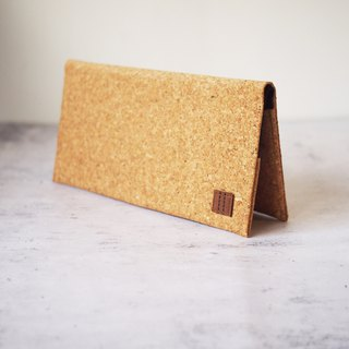Paralife Custom Handmade Cork Long Wallet / Clutch / Handbag / Purse