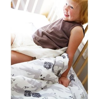 US Blabla Kids | cooler + pillow condom group - Hercule gray like B21110660