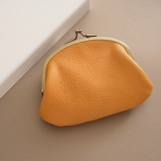 RENÉE Vintage Double Layer Money Bag / Wallet / Gold Bag / Wallet Plant Engraving / Vegetable tanned leather / Vegetable tanned leather