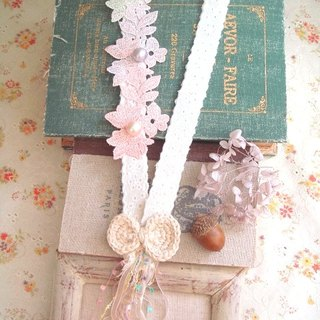 Garohands Japanese color dye gradient color Bischofia cotton pearl handle long chain A407 gifts Department of Forestry