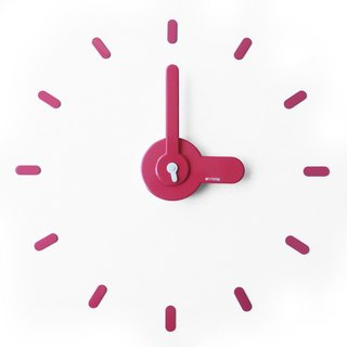 [On-Time Wall Clock] When the wall, count [Pink]