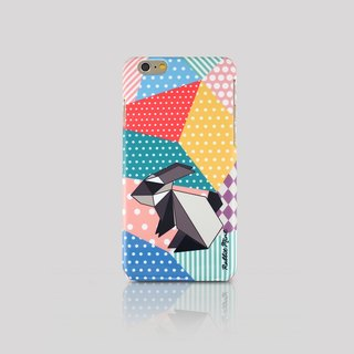 (Rabbit Mint) iPhone 6 Case - Origami Rabbit (P00057)