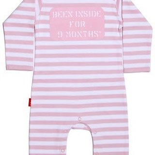 Oh baby London England Small fugitives long-sleeved jumpsuit