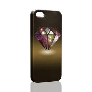 Rock Diamond iPhone X 8 7 6s Plus 5s Samsung S7 S8 S9 Phone Case