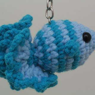 [Knitting] annual surplus (fish) Series - Blue Tiansheng Yu