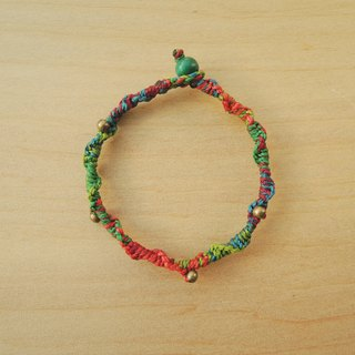 Fun mood / Brazilian silk wax bracelet