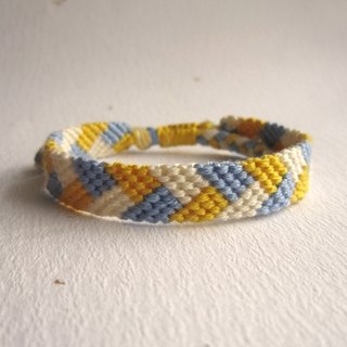 Old Time Lucky Rope Braided Bracelet (optional color)