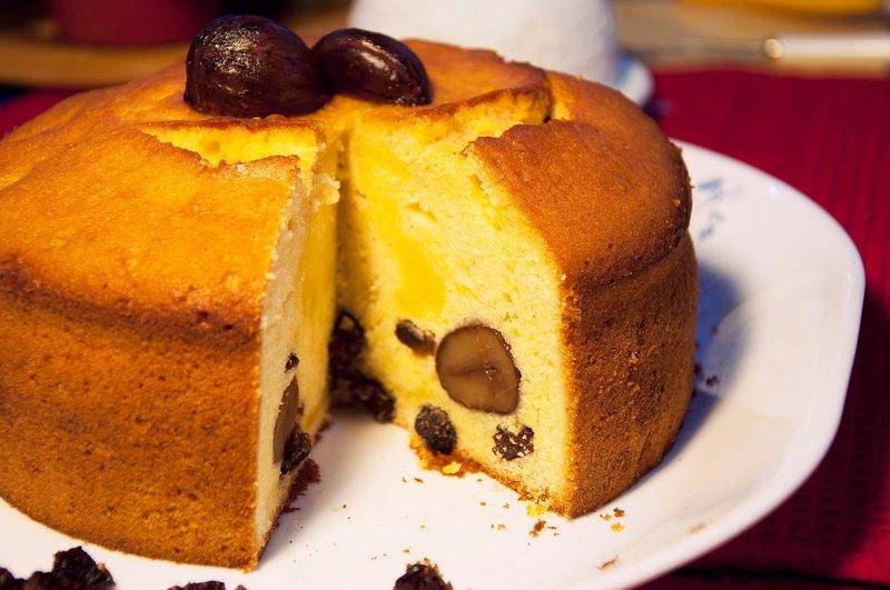 麗麗-蘭姆栗子蛋糕