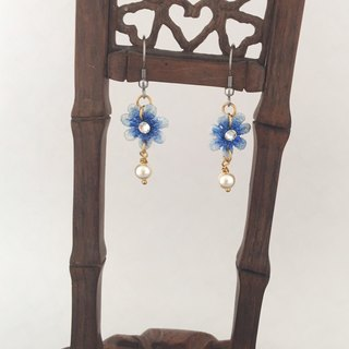 Tonghua Pearl Lace Earrings