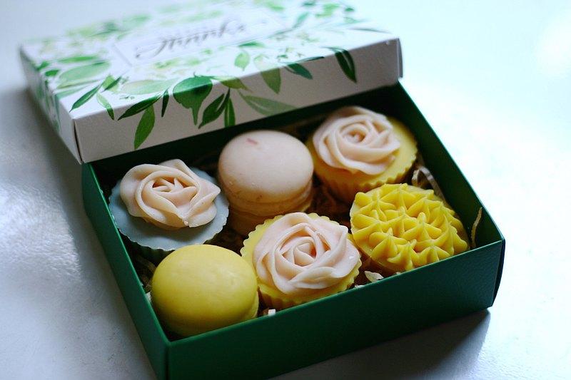 ||製皂工人手工皂禮盒||可愛小物皂六入裝