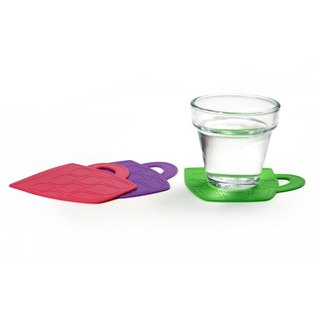 [DESTINO STYLE] Japan Mug Shape Silicone Coaster (3 in)