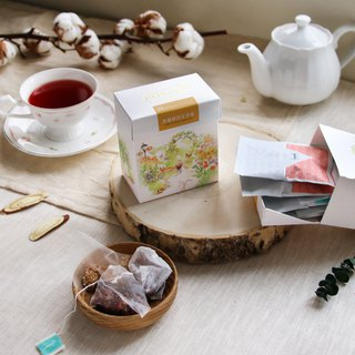 Decaffeinated tea bag | Packed into 8 (4 tea) triangle teabag tea] [HERDOR