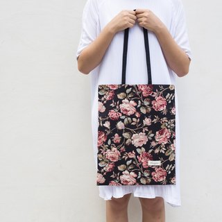 Exclusive simple handbags shoulder bag canvas painting flower ::: ::: [has been revised before the next one, please inbox]