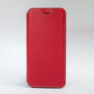 iPhone 6 side open leather protector / set