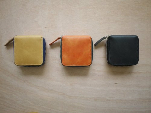 Coin Purse - Mustard Yellow