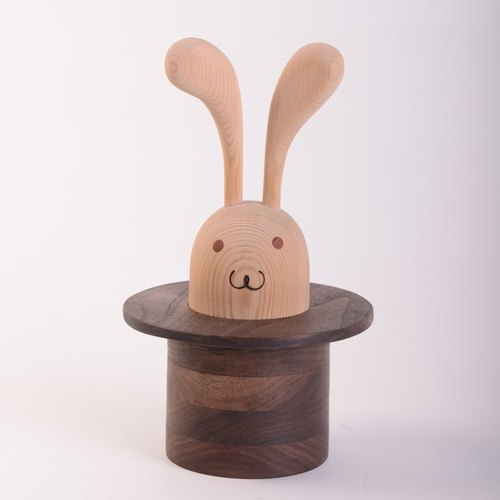 [Even] magic rabbit / marry / compartment tank / solid wood
